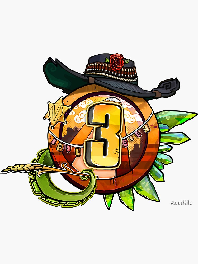 Borderlands 3 - Bounty And Blood Vault Symbol by AmitKilo