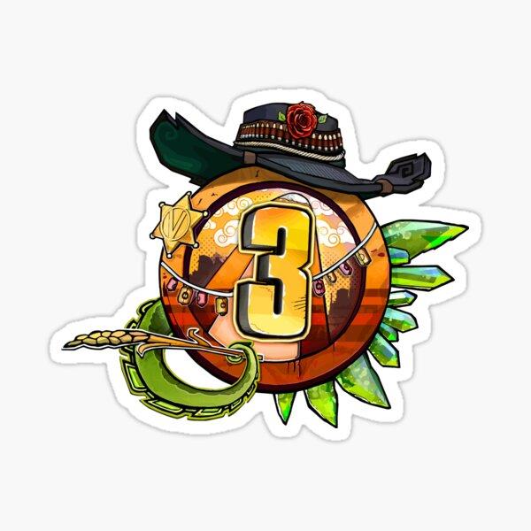 Borderlands 3 - Bounty And Blood Vault Symbol Sticker