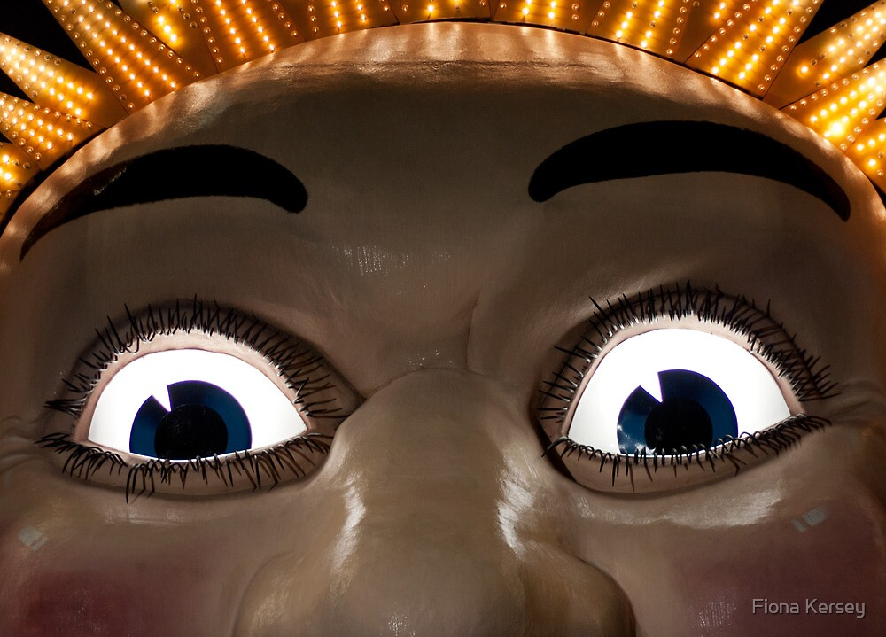 The eyes have it  by Fiona Kersey