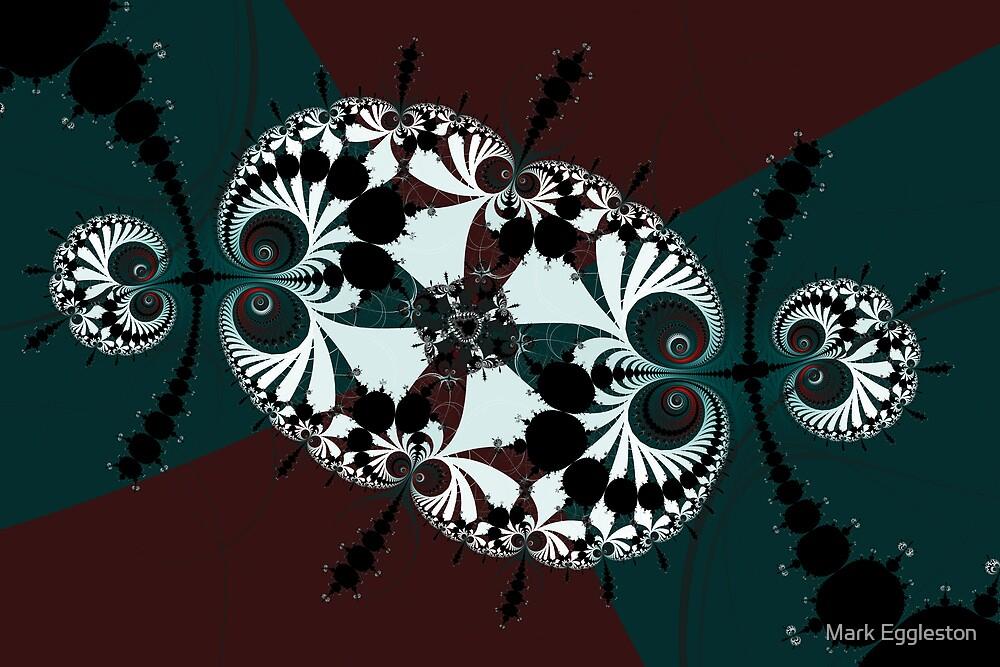 Mandelbrot and Millipedes No. 3 by Mark Eggleston