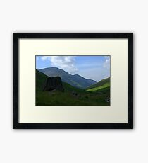 Honister Pass, Lake District National Park Framed Print