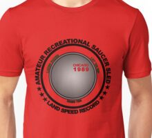 Amateur recreational saucer sled land speed record Unisex T-Shirt