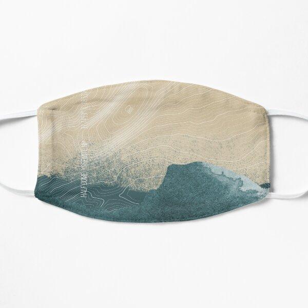 Half Dome Blue Cream Pillow Flat Mask