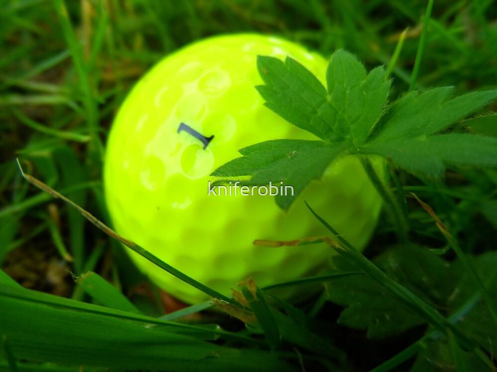 Golf Ball No. 1 by kniferobin