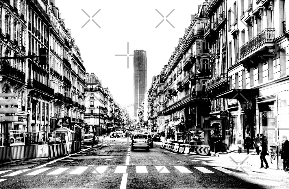 Paris Tour Montparnasse Vintage by Grimm Land