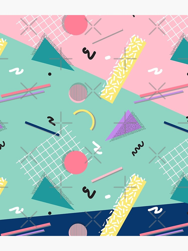 Dreaming 80s Pattern by designdn