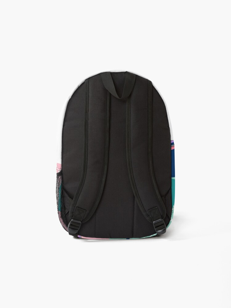 Alternate view of Dreaming 80s Pattern Backpack