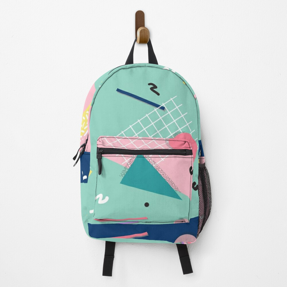 Dreaming 80s Pattern Backpack