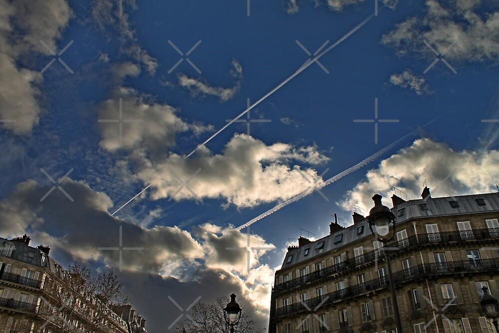 Paris Gare du Nord Terminus Sky by Grimm Land