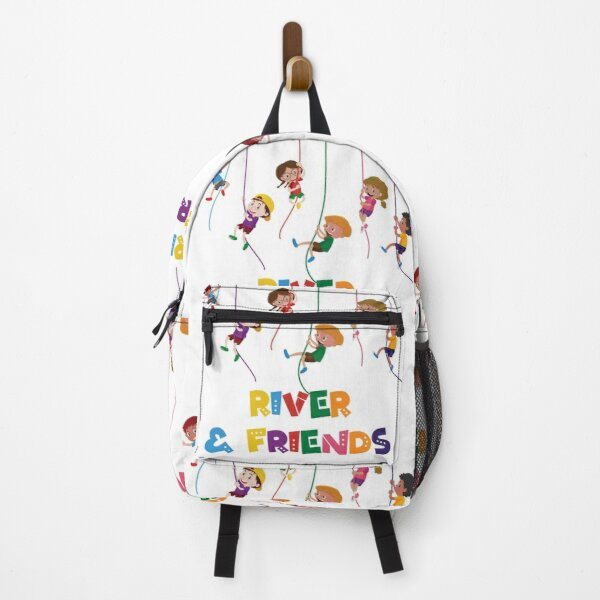 Funny Baby Boy and Girl Friends River Backpack