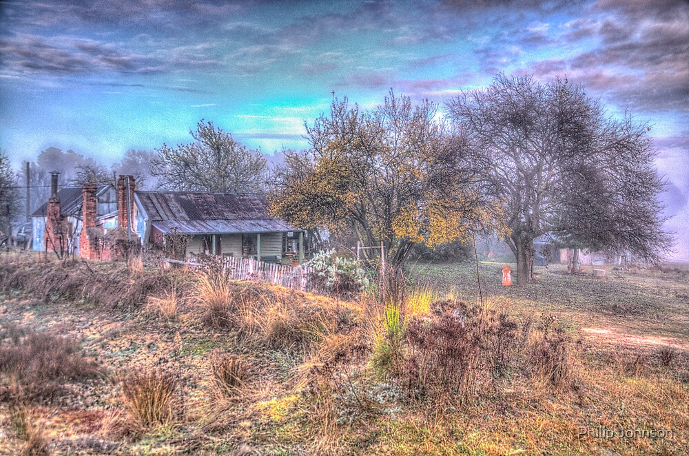 Old Reliable  #3 - Hill End NSW - The HDR Experience by Philip Johnson