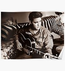 I'm Busy Elvis! Poster