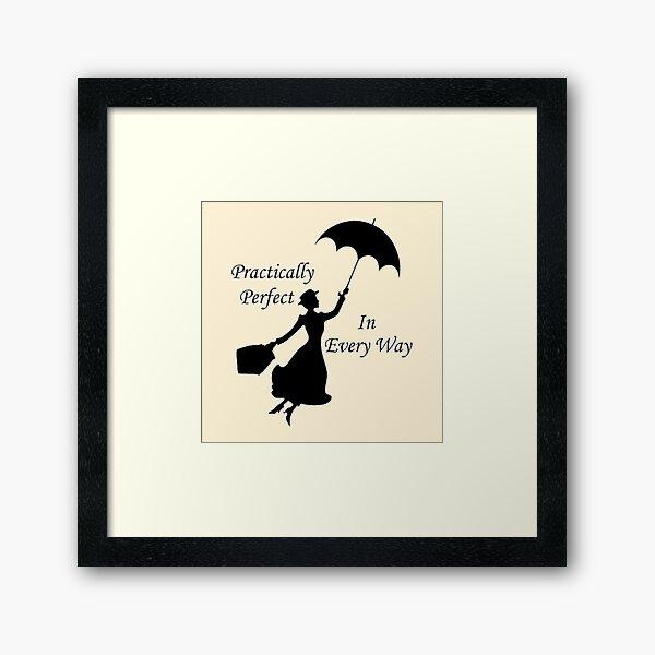 poppins Framed Art Print