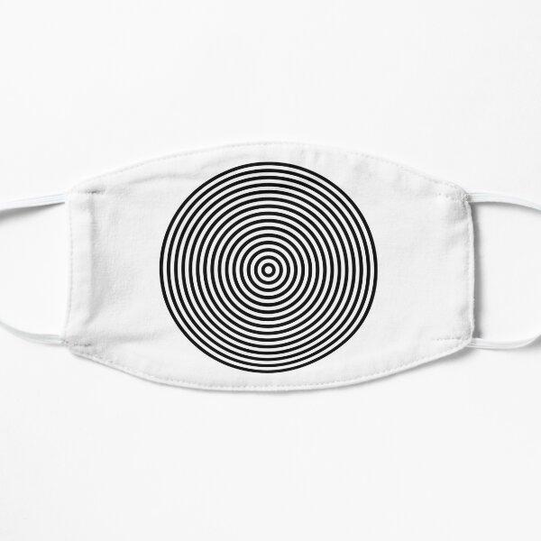 Concentric circles Flat Mask