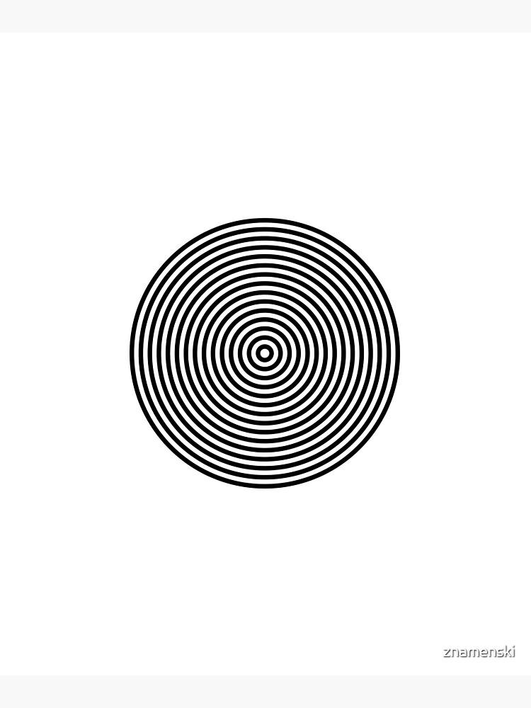 Concentric circles by znamenski