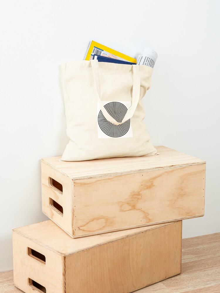 Alternate view of Concentric circles Tote Bag