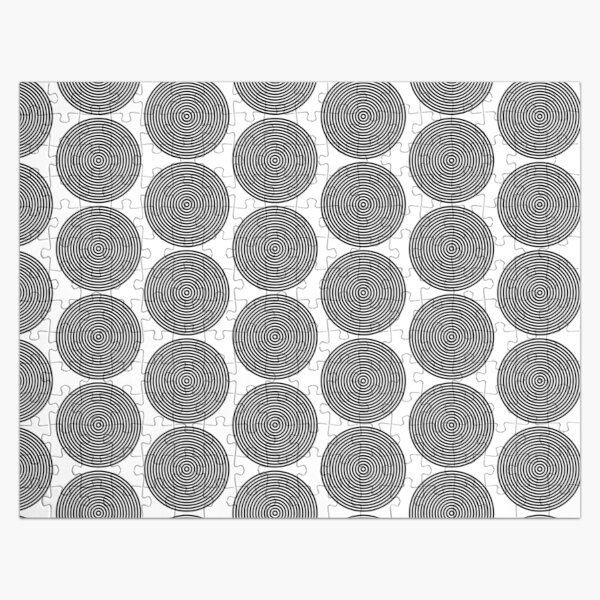 Concentric circles Jigsaw Puzzle