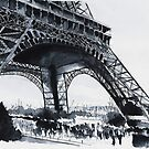 Tour Eiffel - Watercolor by nicolasjolly