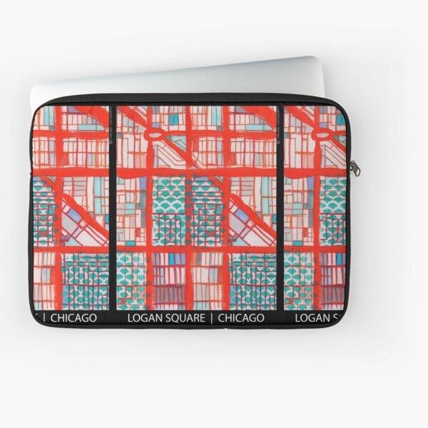 Logan Square, Chicago Laptop Sleeve