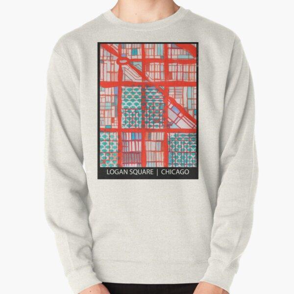Logan Square, Chicago Pullover Sweatshirt