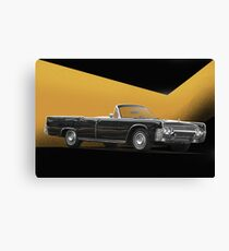 1961 Lincoln Continental Convertible Canvas Print
