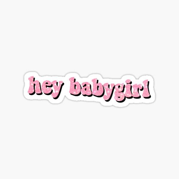 babygirl design Sticker