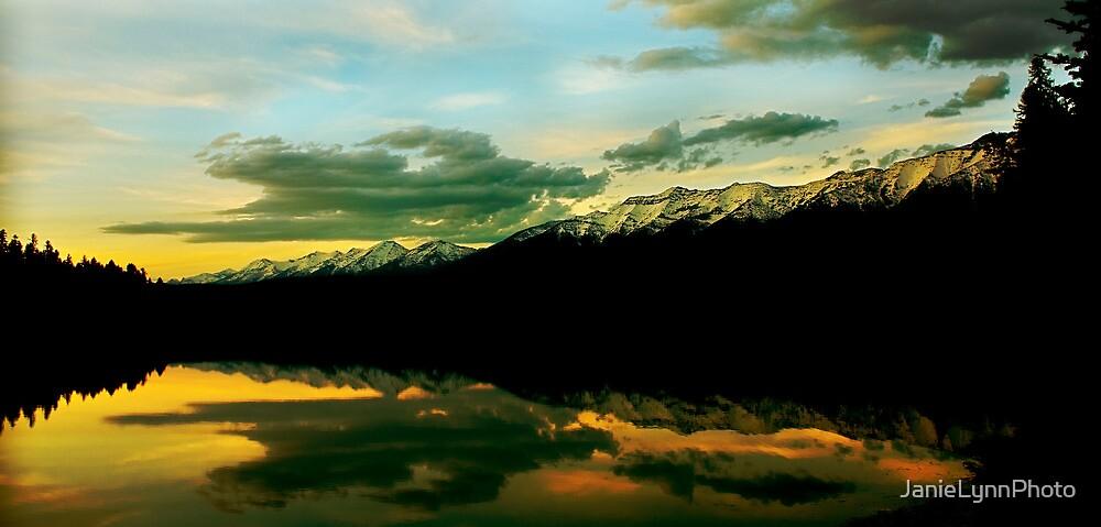 Sunset on Rainy Lake by Janie Lynn Johnson