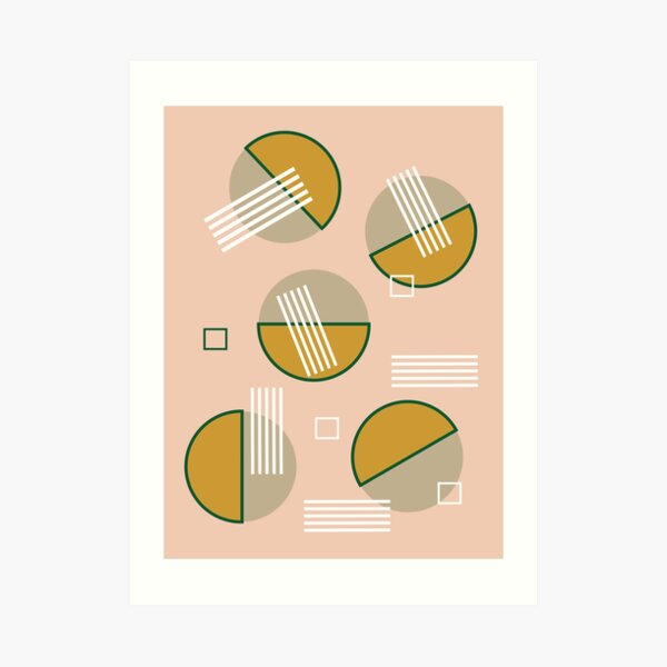 Abstract Composition 09 Art Print