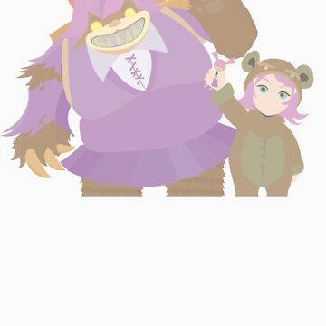 Annie + Tibbers by Pogonotrophist