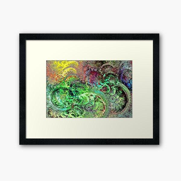 LOONIE BIN Framed Art Print