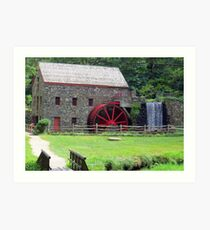 The Grist Mill Art Print