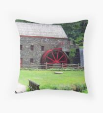 The Grist Mill Throw Pillow