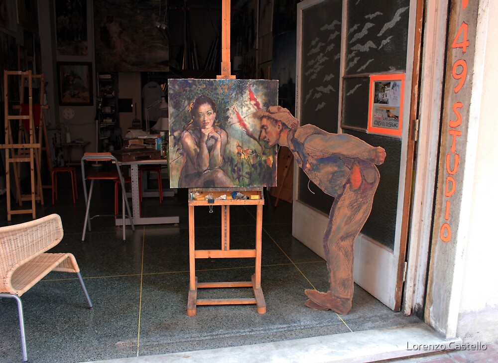 The art critic by Lorenzo Castello