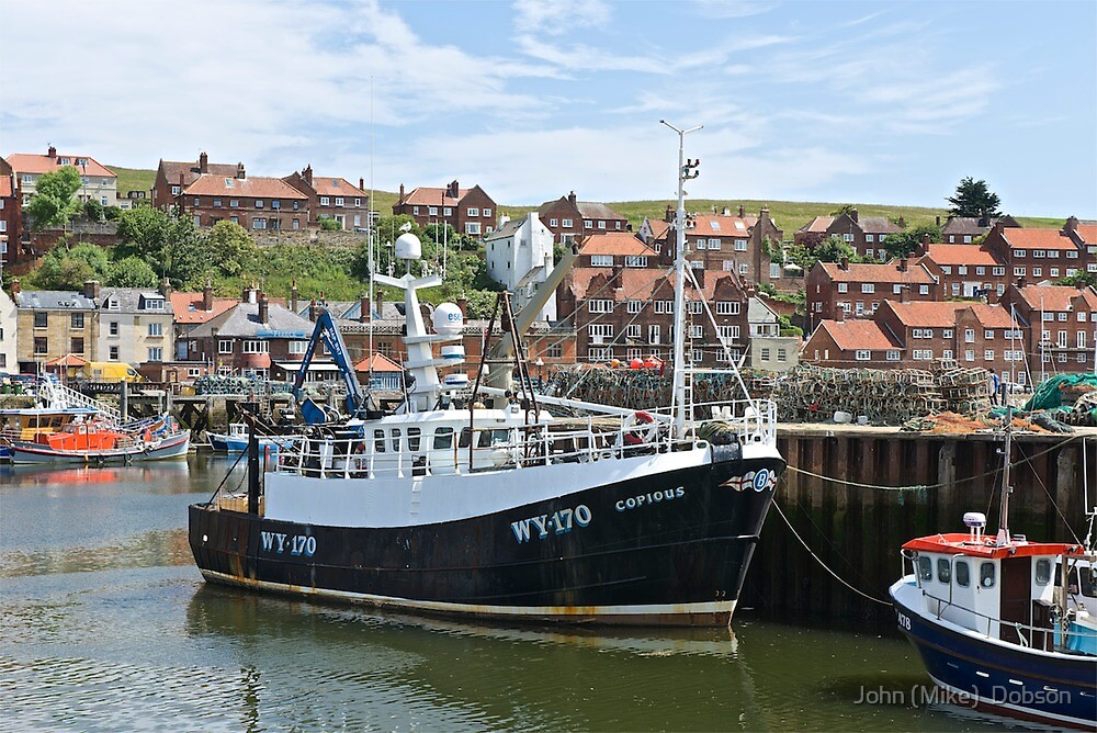 Fishing boats @ Whitby by John (Mike)  Dobson