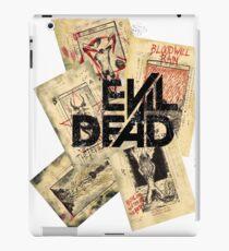 the evil dead ash vs the evil dead army of darkness  iPad Case/Skin