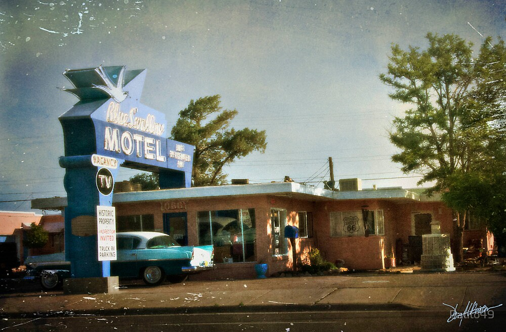 The Blue Swallow Motel by Patito49
