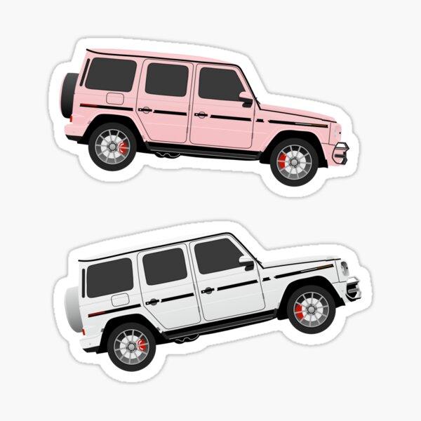 aber zwei g wagen! Ich liebe diese klassischen G-Wagen-Aufkleber, einen unserer Bestseller.  Sticker