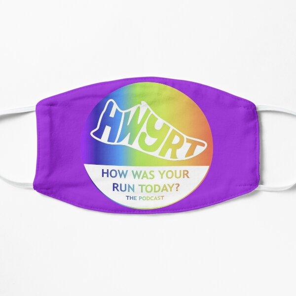HWYRT logo - Rainbow Small Mask