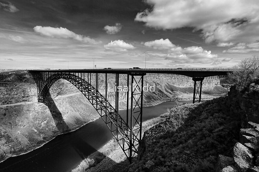 Perrine Bridge B/W by Lisa Kidd