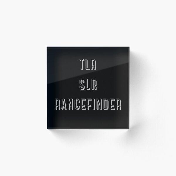 TLR, SLR, Rangefinder Acrylic Block