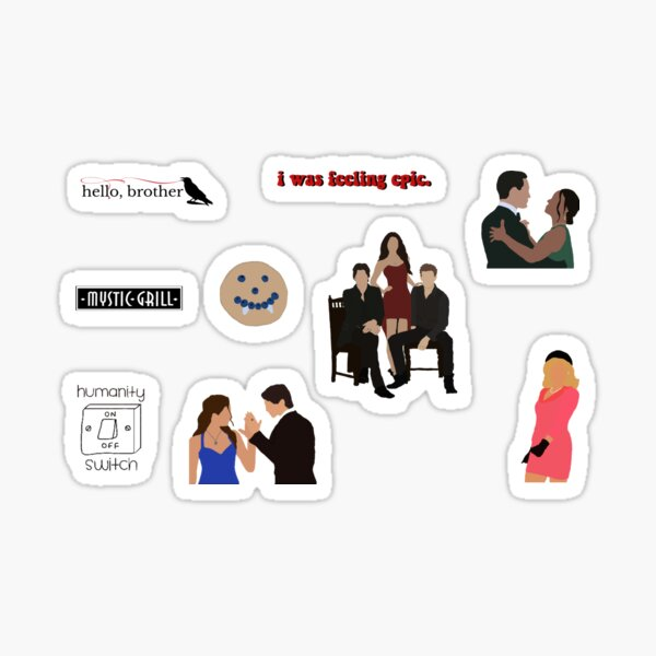 tvd sticker pack Sticker