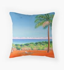 The Brightness of Broome Throw Pillow