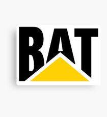 CAT Parody (BAT) Canvas Print
