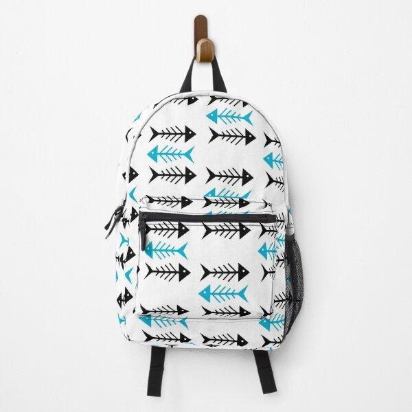 FISH - FISHERMAN - OLDSYTLE - BEACH - MINIMALIST Backpack