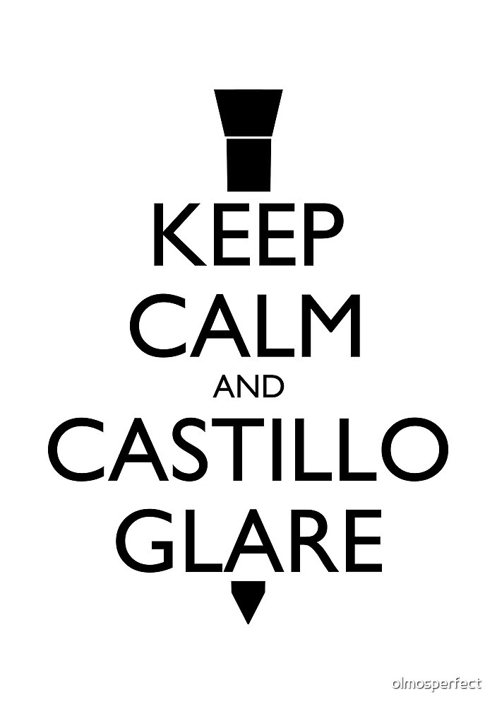 Keep Calm and Castillo Stare (Miami Vice) by olmosperfect
