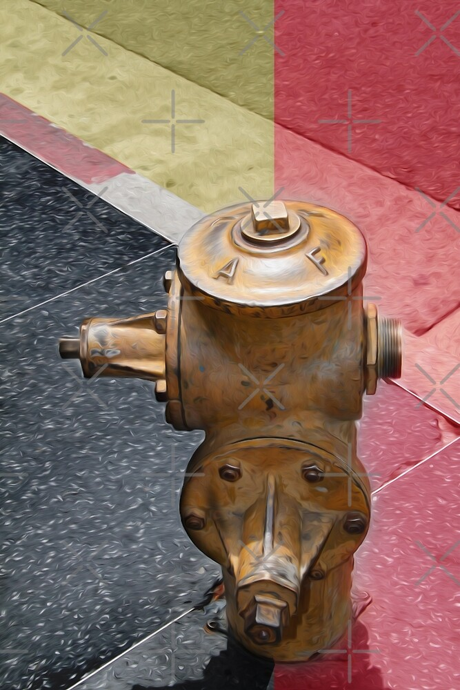 sunset fire hydrant by Vin  Zzep