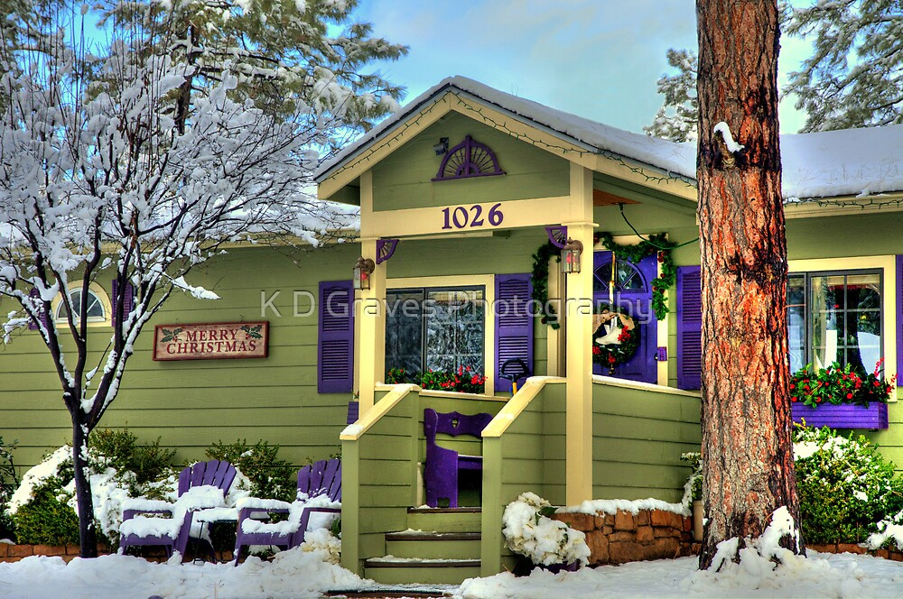 Christmas In The Snow by K D Graves Photography
