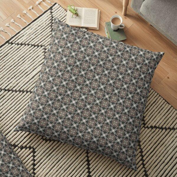 kaleidoscope v4 Floor Pillow