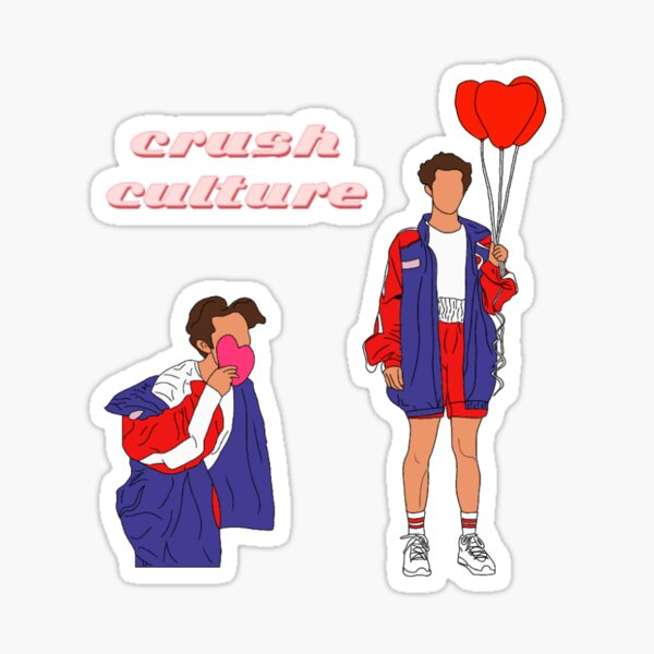 crush culture set Sticker