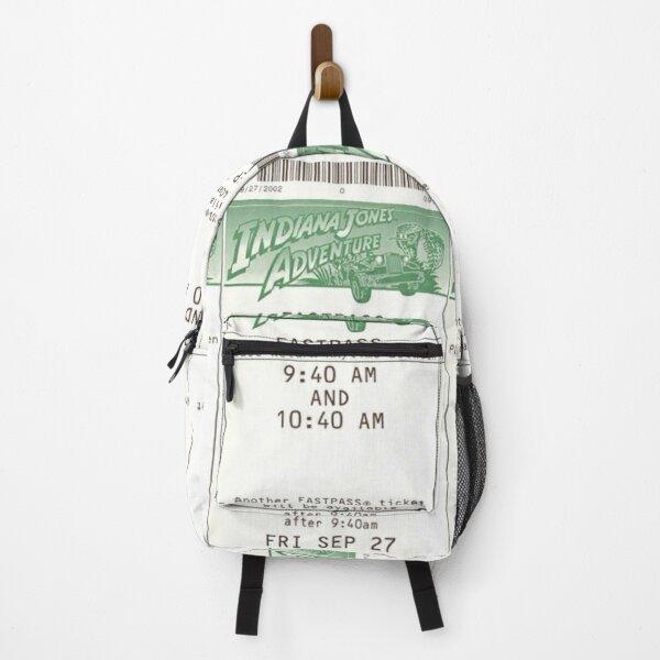 Indiana Jones Adventure Fastpass Backpack